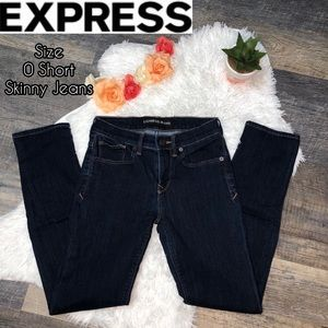 EXPRESS short skinny jeans